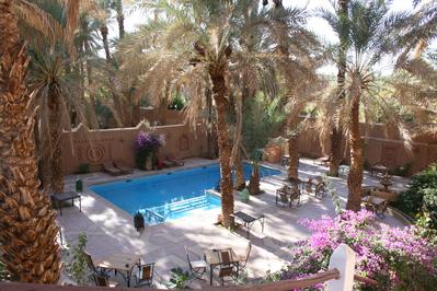 Marokko djoser zwembad hotel accommodatie