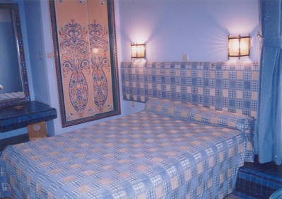 Marokko djoser hotel accommodatie kamer