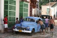 Oldtimer Straatbeeld Cuba Djoser