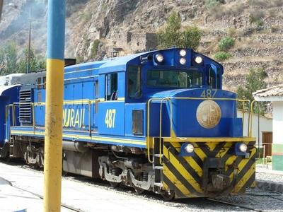 Peru trein vervoersmiddel Djoser