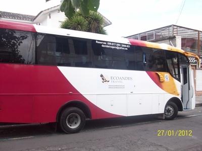 Peru Ecuador Galapagos bus vervoersmidden rondreis Djoser