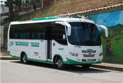 Colombia bus vervoersmiddel rondreis Djoser
