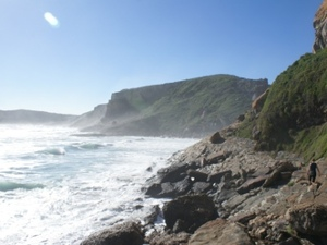 Ruige kustlijn