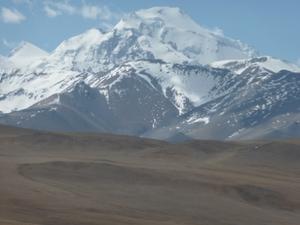 De hoogvlakten in Tibet