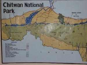 Kaart Chitwan NP