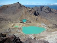 Tongariro Emerald lakes Nieuw-Zeeland