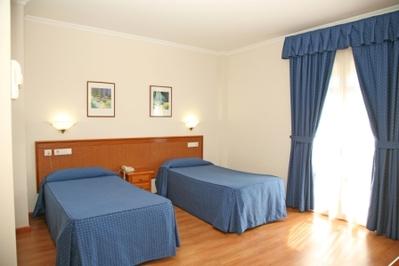Spanje hotel accommodatie overnachting Djoser
