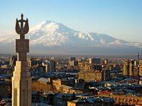 ararat, jervan, uitzicht, berg, mythe, armenie, djoser