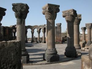 Zvartnots, Etchmiadzin
