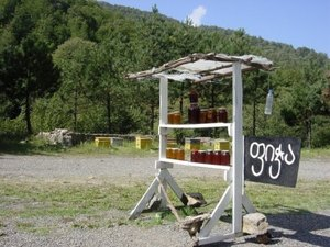 Honing te koop onderweg