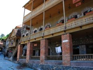 Museum straat in Dilijan