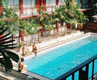 Australie & Tasmanie hotel accommodatie overnachting zwembad Djoser