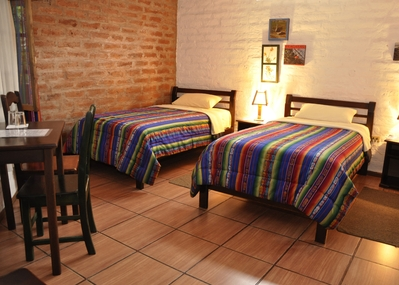 Ecuador Hotel bed Accommodatie Djoser