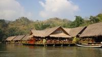 Drijvend Hotel Jungle Rafts River Kwai Thailand Groepsreis