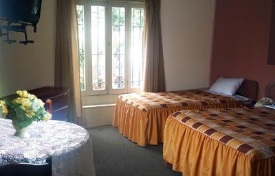 Peru en Bolivia hotel accommodatie overnachting kamer Djoser