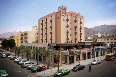 Jordanie djoser hotel accommodatie