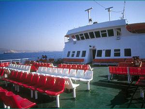 Met de ferry naar tropische eilanden