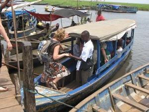 Een boottocht zorgt voor afwisseling