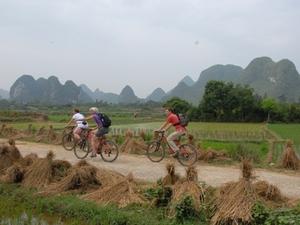 Huur een fiets om de omgeving te verkennen