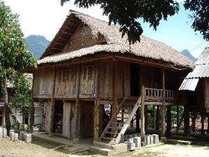 of een paalwoning in Vietnam??