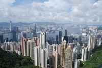 Hongkong skyline Victoria China Djoser