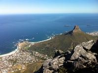 Kaapstad Tafelberg uitzicht Zuid-Afrika