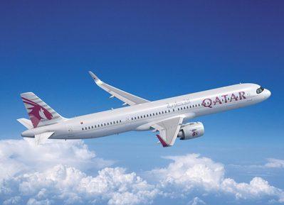 vliegtuig Qatar