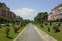 Albanië stad
