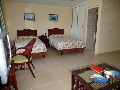 Cuba hotelkamer Playa Larga Djoser