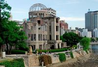 Hiroshima atoombom koepel Japan Djoser