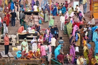 Ganges Varanasi India Djoser