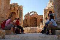 Jordanie Jerash romeinse stad Djoser