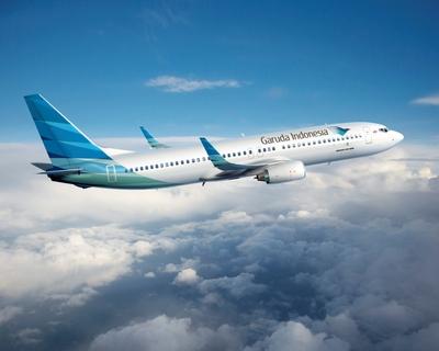 Vliegtuig Garuda Indonesia