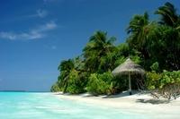Strand Malediven Uitzicht Djoser