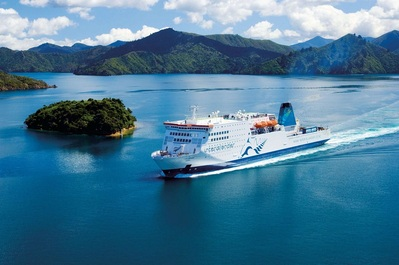 Ferry Picton Nieuw-Zeeland Djoser