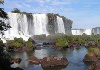 Iguacu watervallen Brazilië Djoser