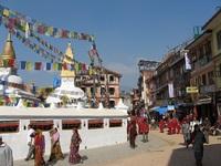 India en Nepal Bhaktapur stad van gouden tempels Djoser