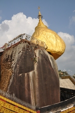 Kyaikto gouden rots Myanmar Djoser