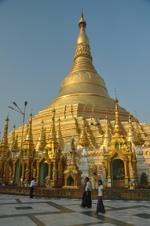 Shwedagon Pagode Yangon Myanmar Djoser