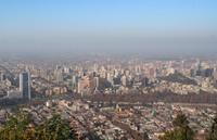 Panorrama Santiago de Chile