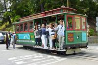 San Francisco tram Amerika Djoser