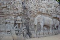 Arjuna's boetedoening Mahabalipuram India Djoser