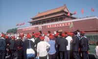 Verboden stad Beijing China en Tibet Djoser