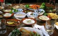 wandelreis Jordanie maaltijd Djoser