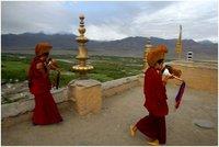 Monniken Ladakh India Djoser