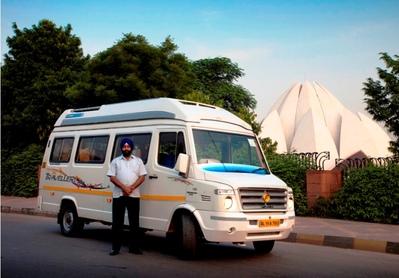 India, Nepal en Rajasthan bus vervoersmiddel Djoser