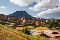 Madagaskar Ambostira rijstterrassen Djoser