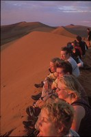 Namibië zandduin Djoser