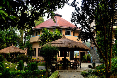India en nepal hotel accommodatie overnachting Djoser