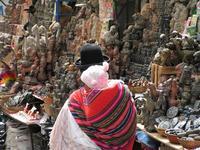Bolivia La Paz markt djoser